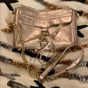 Rebecca Minkoff Rosé and good crossbody